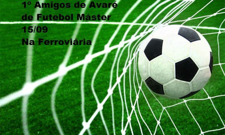 Vem aí o jogo de futebol 1º Amigos de Avaré