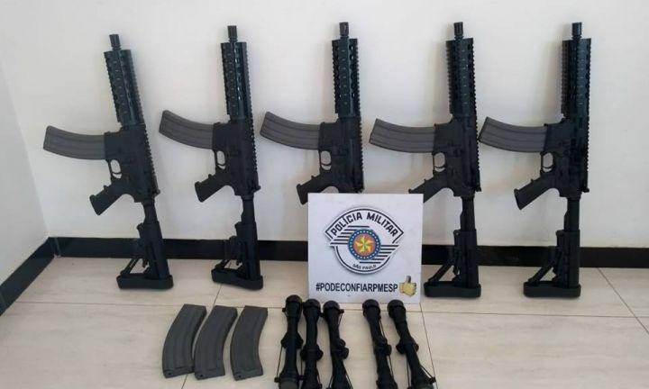 Homem é preso por tráfico internacional de armas