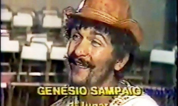 Genésio Tocantins foi o vencedor da 1ª FAMPOP