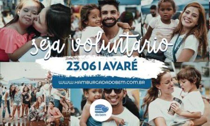 Hamburgada do Bem chega em Avaré no dia 23 de junho