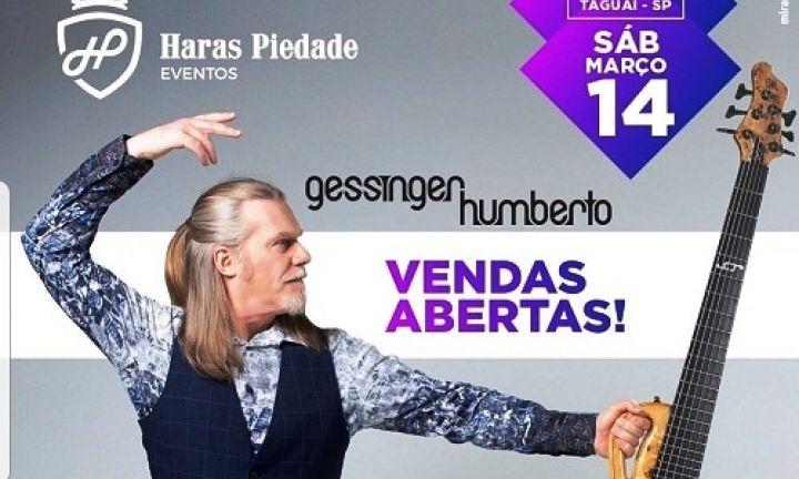 Humberto Gessinger se apresenta no Haras Piedade em Taguaí