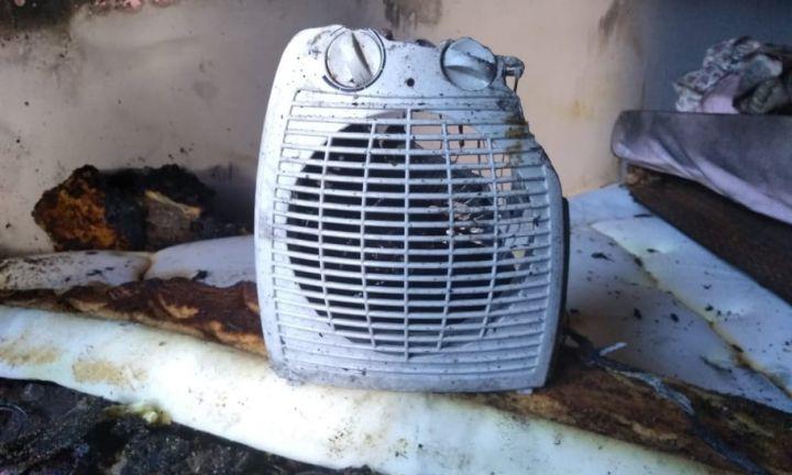 Incêndio consome quarto de residência em Avaré