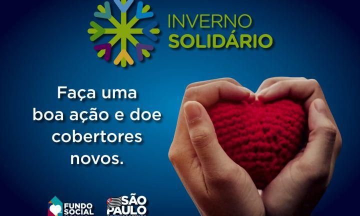 Corpo de Bombeiros de Avaré participa da Campanha Inverno Solidário