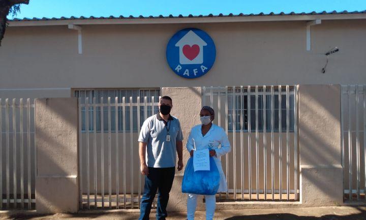 CCR SPVias distribui máscaras de tecido a instituições sociais de Avaré