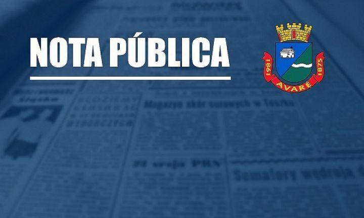 Prefeitura de Avaré declara estado de calamidade pública no município