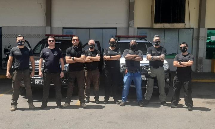 Polícia Civil de Avaré e Cerqueira César participa da Operação Anteros