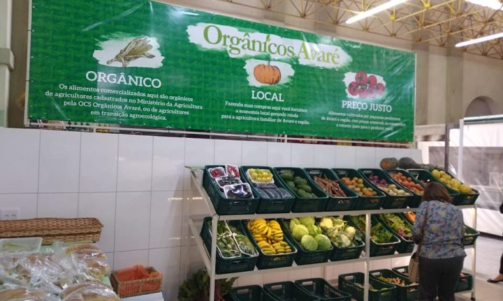 Mercado Municipal é a nova casa da Associação Orgânicos Avaré