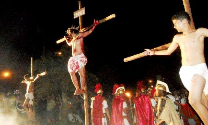 Grupo de teatro busca atores para encenar a Paixão de Cristo
