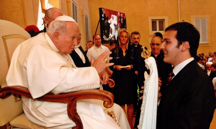 Há 40 anos, João Paulo II abençoava os avareenses