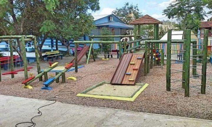 CAIC receberá esta semana moderno parque infantil
