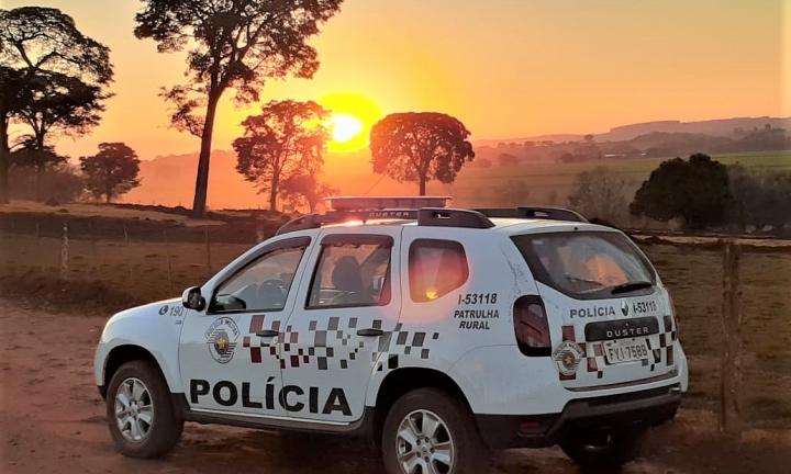Parceria entre Polícia Militar e Prefeitura garante segurança à zona rural