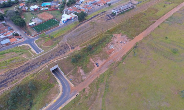 Município prepara pavimentação em via que liga Vila Jardim à Vila Martins