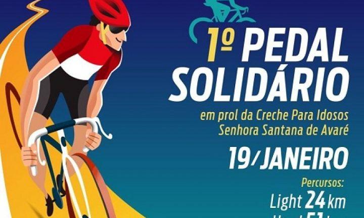 Pedal Solidário em Prol da Creche de Idosos Santana será no dia 19