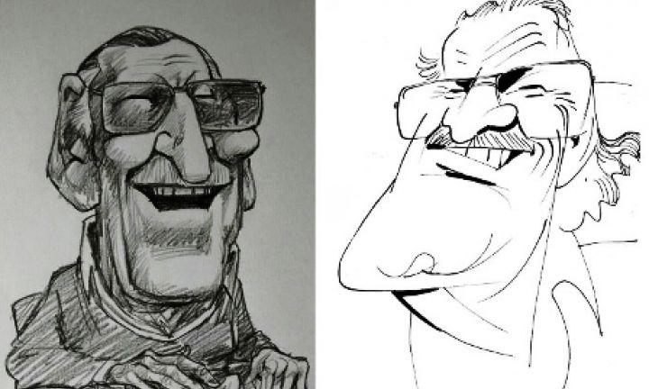Artistas homenageiam Stan Lee com caricaturas