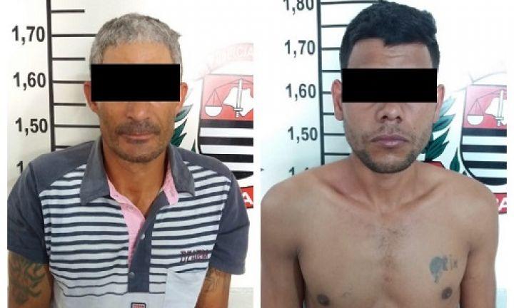 Dupla é presa em flagrante logo após roubar celular de mulher