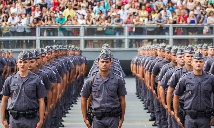 Polícia Militar de São Paulo abre concurso para 2,7 mil vagas