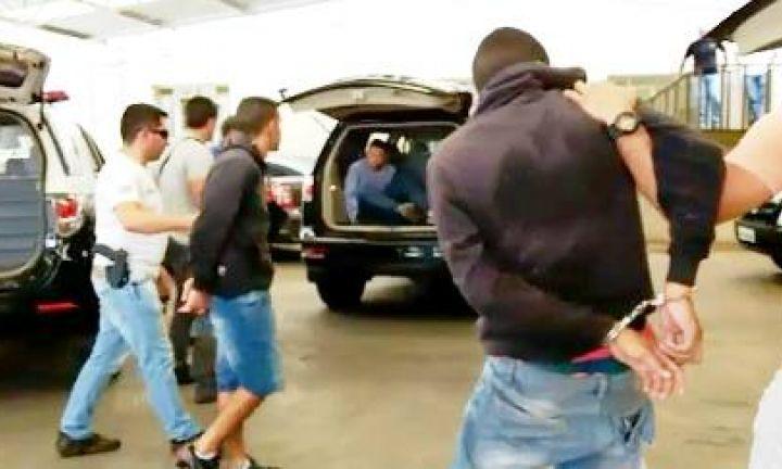 Polícia Civil prende quadrilha de roubo e furto a residências