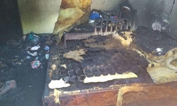 Casa pega fogo e mobiliza Corpo de Bombeiros em Avaré