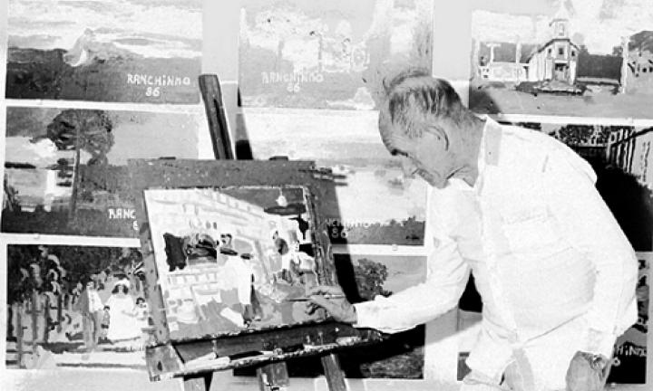 Telas do pintor Ranchinho são doadas ao Museu Municipal
