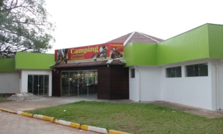 Restaurante do Camping será inaugurado no dia 10