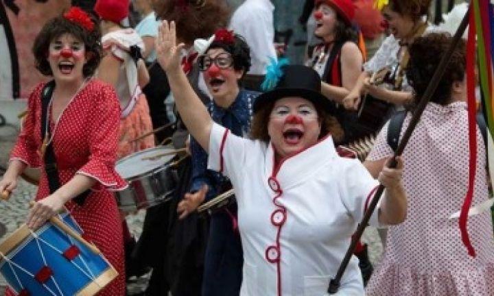 Cortejo Cênico Sampalhaças se apresenta na cidade no dia 21