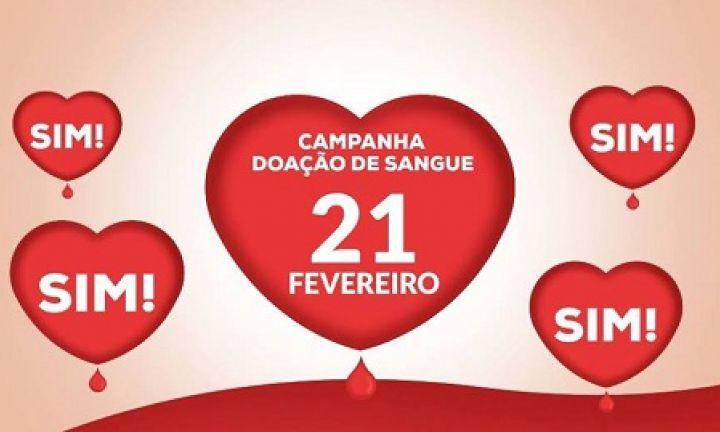 Campanha de Coleta de Sangue acontece nesta quinta, 21