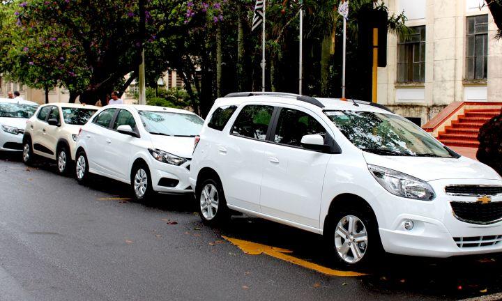 Novos veículos chegam para reforçar a frota municipal