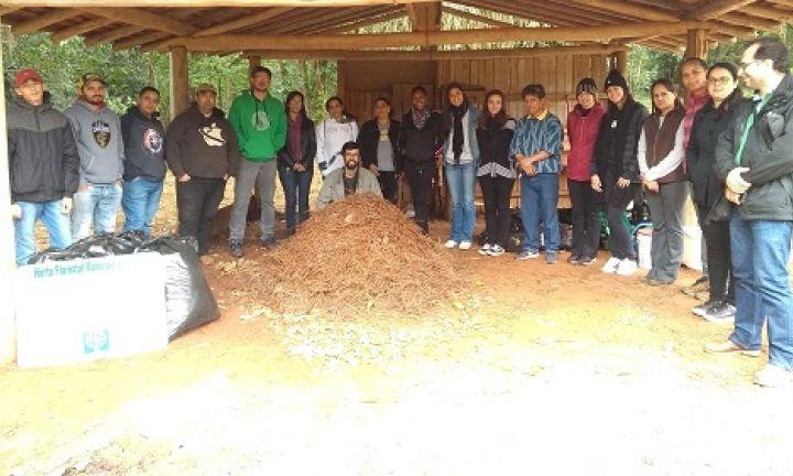 Secretaria desenvolve projeto-piloto sobre compostagem no Horto