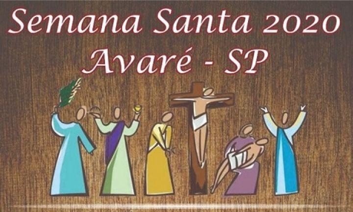 Semana Santa em Avaré terá celebrações on-line; confira onde assistir