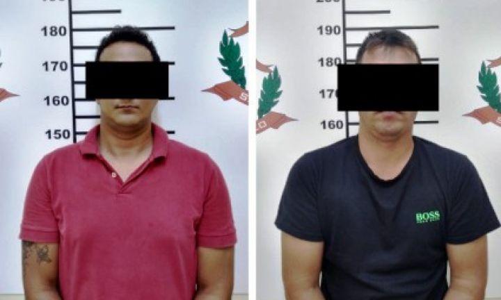 DIG prende dupla suspeita de extorquir vítima de furto de moto em Arandu