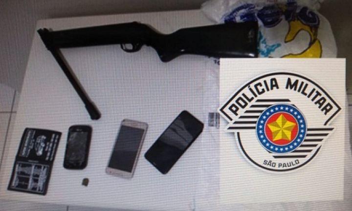 Polícia detém três homens por roubo em casa lotérica na região