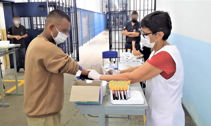 Penitenciária II de Avaré realiza testagem em massa de Covid-19