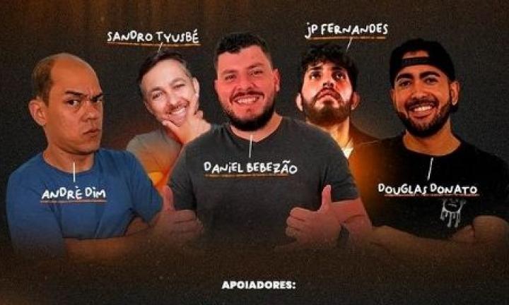 Comediantes farão show beneficente na Estação das Artes em Avaré