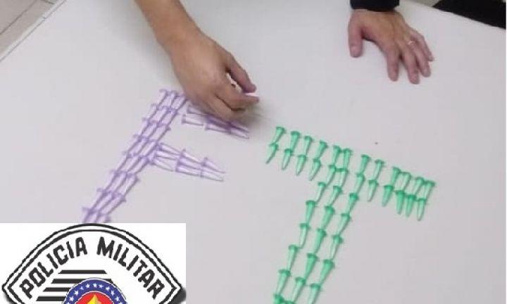 Traficante é preso com 83 pinos de cocaína no Bonsucesso