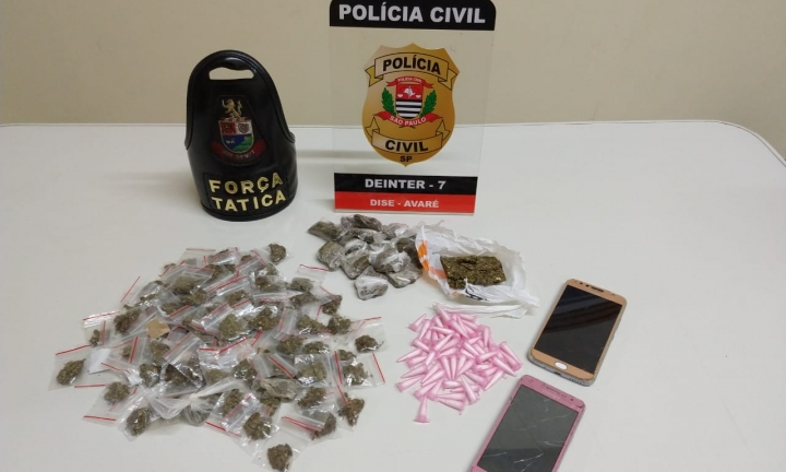 Polícia Civil de Avaré acaba com esquema de venda de drogas no bairro do Braz