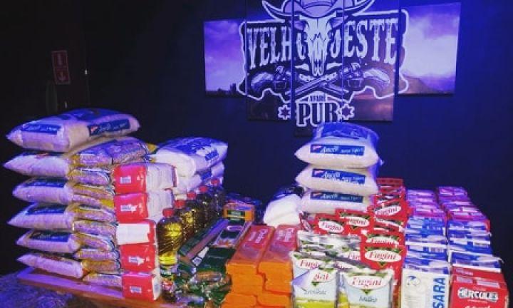 Velho Oeste Pub arrecadará alimentos para famílias necessitadas