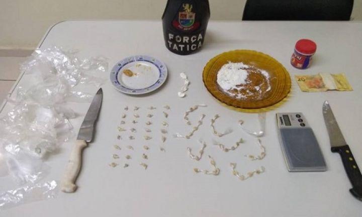 Força Tática prende traficantes na Vila Esperança