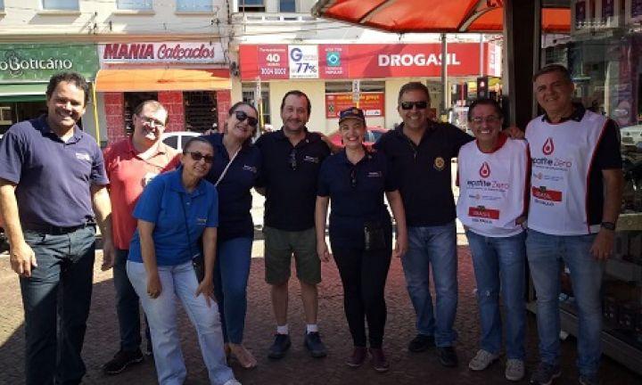 Rotary Club de Avaré realiza campanha para detecção de Hepatite C
