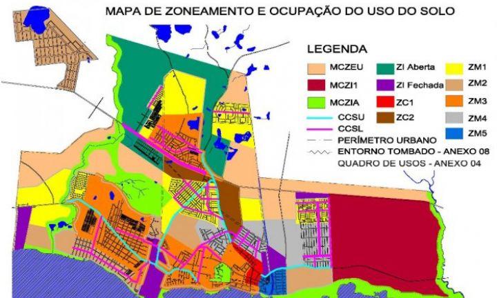 Audiência Pública discute zoneamento urbano da cidade