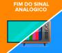 Desligamento do sinal analógico de TV na região ocorre no dia 28