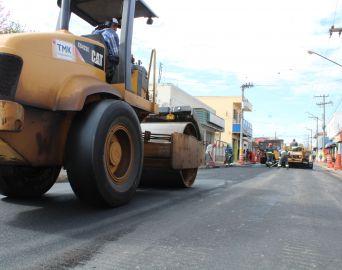 Mais três bairros receberão o Asfalto Novo nos próximos dias