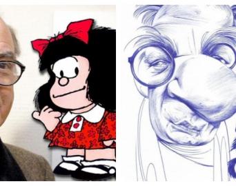 Cartunista avareense homenageia Quino, criador da personagem Mafalda
