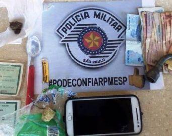 Polícia Militar apreende menores traficantes em Itaí