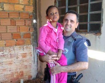 Polícia Militar salva criança especial que estava engasgada