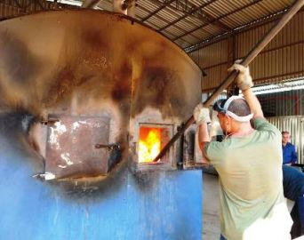 Polícia Civil de Avaré incinera mais de cem quilos de drogas
