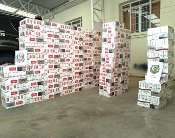 Comerciante de Avaré é preso com carga de cigarros avaliada em R$ 30 mil