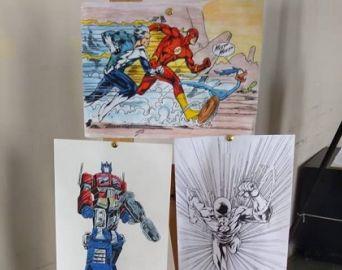 Centro Cultural inaugura exposição de desenhos