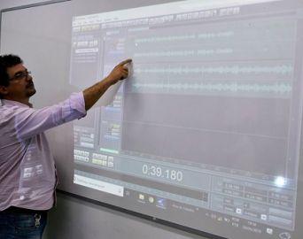 Faculdade Eduvale recebe minicurso de Apresentador de TV e Vídeo