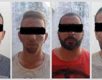 Polícias Rodoviária e Civil prendem quadrilha de furto a caixas eletrônicos