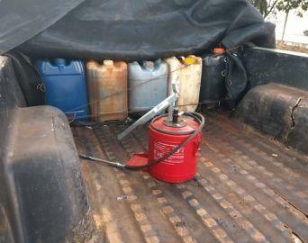 Servidor municipal é preso suspeito de furtar óleo diesel no trabalho